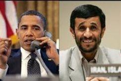 Obama and Ahmadinejad
