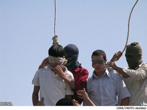 Islamic execution by hanging of two teenager's Guilty of being Gay