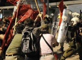As recent as September 11, 2010, thousands of Greeks have taken to the streets in union-led protests against the debt-plagued country's austerity program. (Photo: AP)