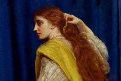 Queen Esther, by John Everett Millais
