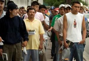 Welfare Line in California