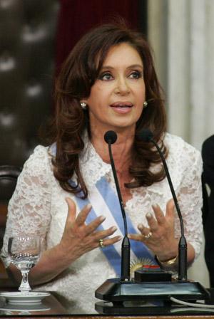 (5)ARGENTINA-BUENOS AIRES-CRISTINA FERNANDEZ-INAUGURATION
