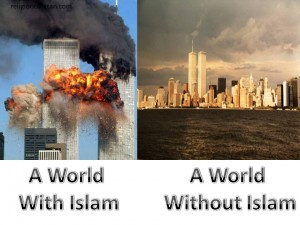 Imagine a world without Islam.