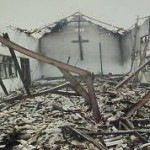Coptic Church Destroyed by Muslims