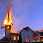 Muslim Burn Another Church