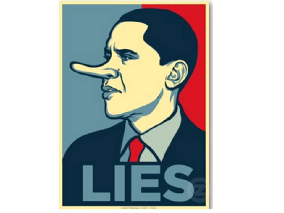 obama pathological liar