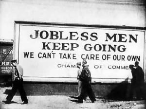 Unemployment great depression