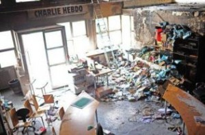 Charie Hebdo Offices in France Bombed by Muslims