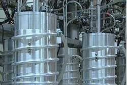 Iranian centrifuges in Natanz