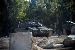 IDF Tank Near Gaza