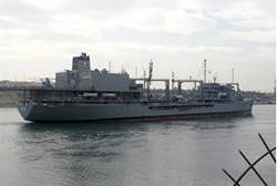 Iranian Warship, Suez Canal