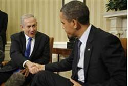 Netanyahu and Obama at the White House this week