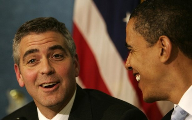 George Clooney & Barack Obama