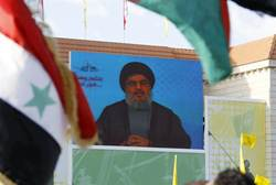 Nasrallah addresses supporters via video in Bint Jbeil