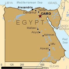 Egypt Has Plan To Strike Gaza The Conservative Papers - Map of egypt with capital