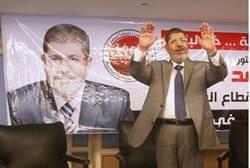 Egyptian presidential candidate Mohamed Mursi