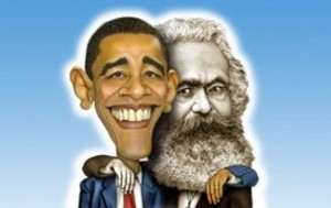 carl marx and Obama