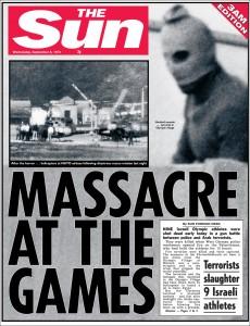 1972: Massacre at Munich Olympics