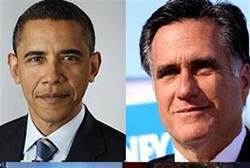 Obama Mitt Romney Candidates