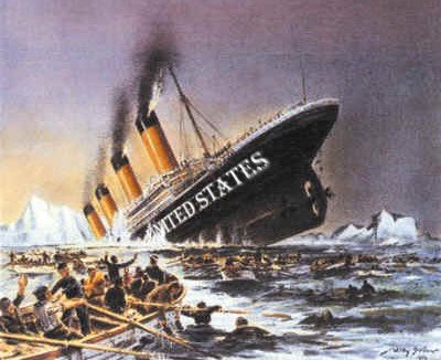Image result for pictures of US titanic
