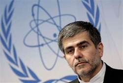 Iran's Head of Atomic Energy Organization Fereydoon Abbasi-Davani