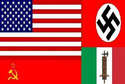 America Defeated Communism Nazism and Fascism