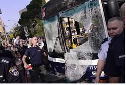 Dan bus bombed in Tel Aviv