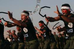 Fatah's US-trained troops