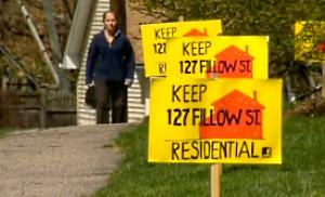 Residents of the area of the proposed mosque were not bigoted; they were worried about traffic and safety. (Screenshot: wtnh.com)