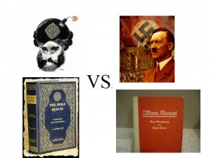 koran vs mein kampf