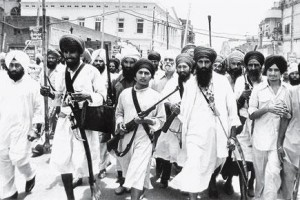 Bhindrawale and his armed followers