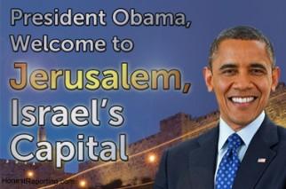 Obama - Welcome to Jerusalem