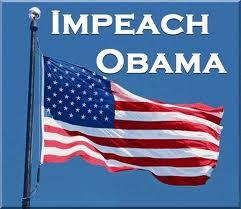 impeach obama - flag