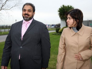 Labour's Lord Ahmed and Conservative Baroness Warsi: the Islamist vice grip on British politics