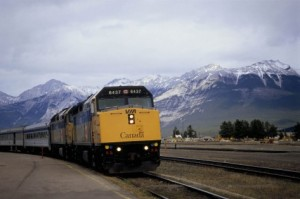 canadian passenger train
