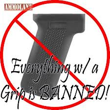 everything with gun grip banned
