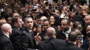 obama with blacks