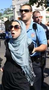 terrorist woman arrested in hajib