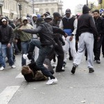blacks beating up whites