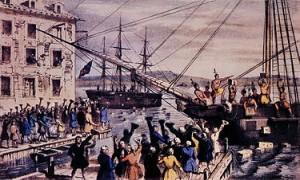 Boston Tea Party, December 16, 1773
