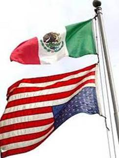 mexican above us flag upside down