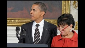 obama and Penny Pritzker