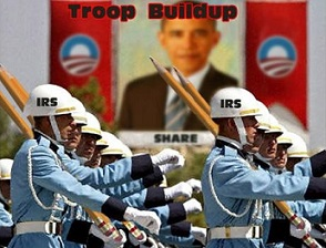 obama irs troops
