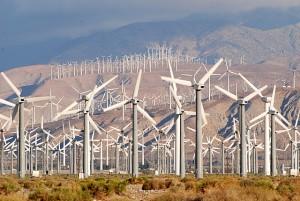 palm springs wind farms