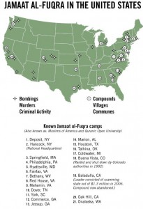 terrorist training camps in the usa