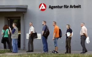 Unemployment line Germany