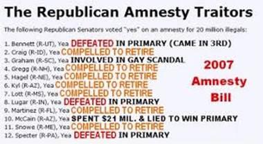 republican amnesty traitors