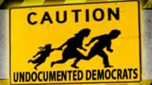 undocumented democrats crossing - illegal aliens