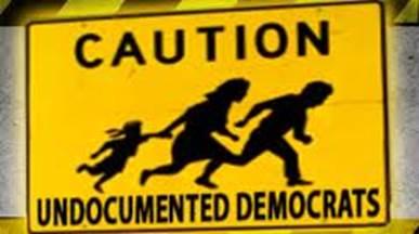 undocumented democrats crossing - illegal aliens