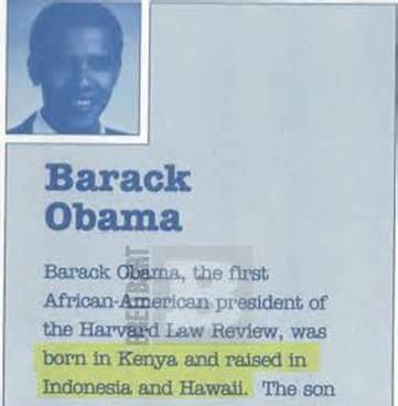 obama - kenyan book cover - birthplace